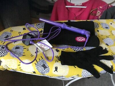 Yogi Hair Wand. Purple With Mit And Pouch • 8£