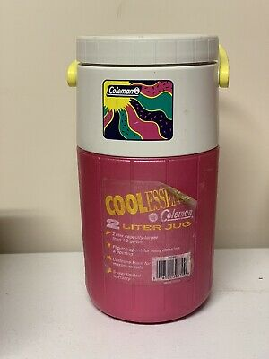 $11.50 • Buy Vintage Coleman Cool Essence Water Jug 1993