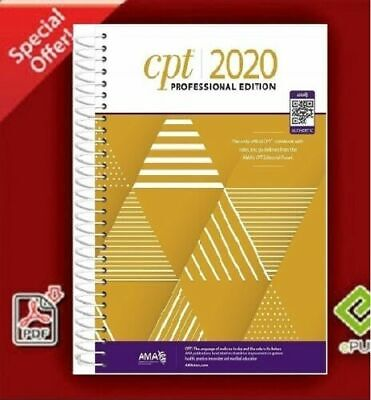 $3.44 • Buy CPT Professional 2020 / American Medical Association 📚📥 E-Mail-Delivery📚⚡