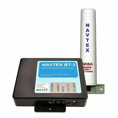 NASA Marine BT3 Bluetooth Navtex Recceiver With Marine Series 2 Antenna - BT3-S2 • 150£