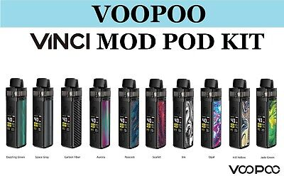 VOOPOO VINCI Mod Pod KIt 1500mAh All IN One Mod Style 40W Pod System Kit UK Base • 14.90£