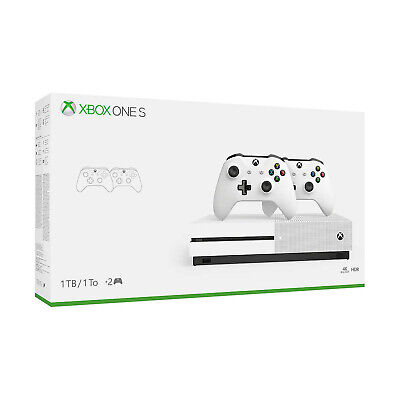 $219.99 • Buy Xbox One S 1TB Console With 2 Controllers Bundle (Pre-owned And Tested Open Box