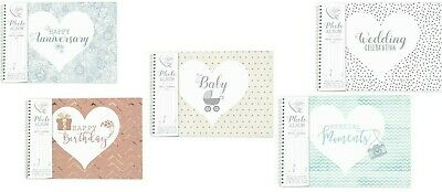 Said With Sentiment Photo Album - Various Occasions Available • 19.95£