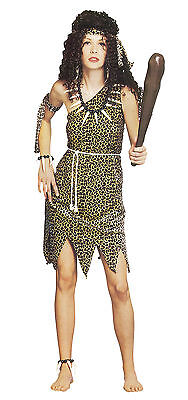 £10.95 • Buy Cave Woman Girl Size Fancy Dress Hen Night Outfit Costume Size 10