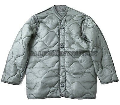 $12.90 • Buy US Army Military M-65 FIELD JACKET QUILTED COAT LINER Foliage Green XX LARGE NOS