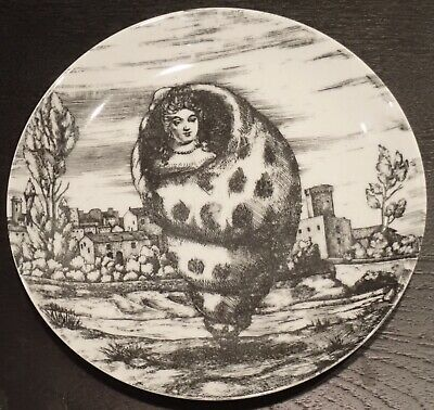 $10.50 • Buy Rare Vintage Fornasetti Le Oceanidi Lady In A Shell Plate