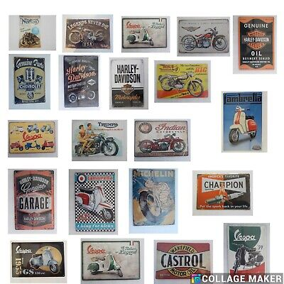 £4.95 • Buy Retro Metal Signs 300mmx200mm  A4 SIZE