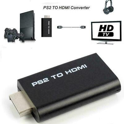 PS2 To HDMI Video Converter Adapter With 3.5mm Audio S8B9 HOT O Monitor W1S9 • 4.81£