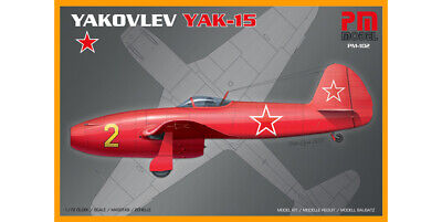 PM Models 1/72 Model Kit 102 Yakovlev Yak-15 • 7.50£