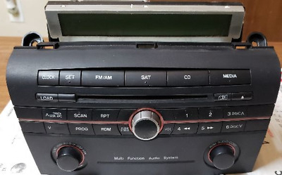 $129.99 • Buy 2005-2008 MAZDA 3 Radio Stereo 6 Disc Changer CD Player W/out Trip Display OEM