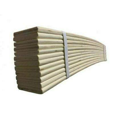 Replacement Sprung Wooden Bed Slats 2ft,Single 3ft,Double 4.6 ,King Size 5ft,6ft • 39.99£