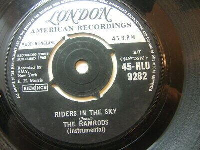 "The Ramrods – Riders In The Sky 1960 7"" London HLU 9282 • 3.50£"