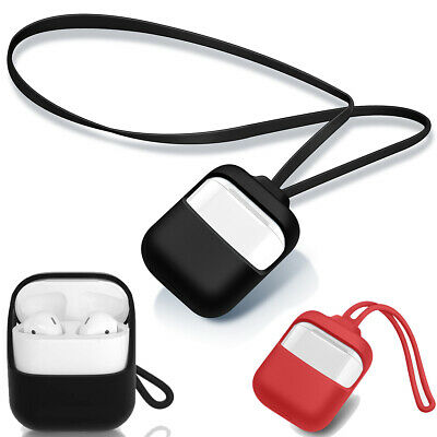 $ CDN21.99 • Buy AirPods Case Strap For Apple Airpods 1&2 Protective Silicone Cover With 2 Staps