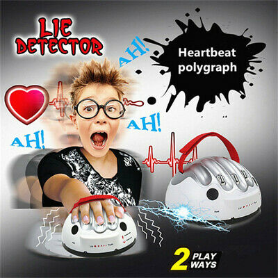 £10.89 • Buy Polygraph Test Toys Electric Shock Lie Detector Shocking Liar Truth Dare Game