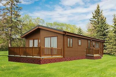NEW 2021| Grangewood Lodge | 40x20 | 2 Bedroom | Twin Unit Mobile Log Cabin • 61,995£