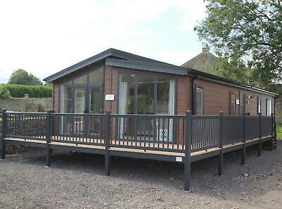 Liberty Lodge | 45x20 | 2/3 Bed | Log Cabin | Annex | Park Home Mobile • 105,500£