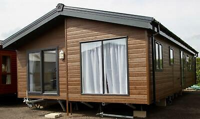NEW 2021| Grangewood Lodge | 40x20 | 3 Bedroom | Twin Unit Mobile Log Cabin • 63,995£