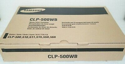 £10.50 • Buy Genuine Samsung CLP-500WB Waste Toner Container