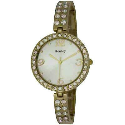 £15.95 • Buy Henley Glamour Slender Bling Watch, Diamante Crystals