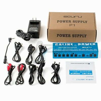 $ CDN55.06 • Buy Caline P1 Isolated Power Supply High-Power Effect Pedal Power Supply 18V2A Input