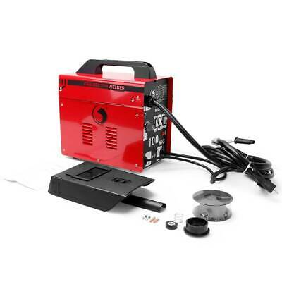 MIG 100 Welder Gasless No Gas Gasless Flux 230V Mighty Machine Welding + Kits • 78.89£