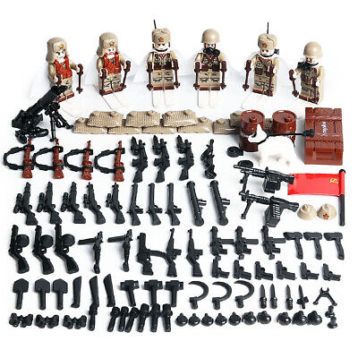 $17.99 • Buy WWII Soviet Army Soldiers Minifigure Polar Squad Military Building Blocks Toy