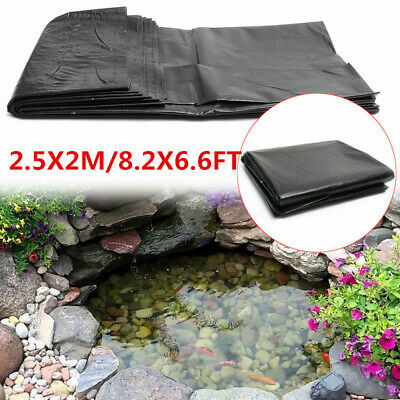 2.5M X 2M Fish Pond Liners Garden Pool HDPE Membrane Reinforced Landscaping • 7.39£