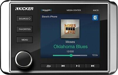 $549.95 • Buy Kicker 46kmc5 Marine Boat Media Center Stereo Receiver Usb/bluetooth/dual Zone