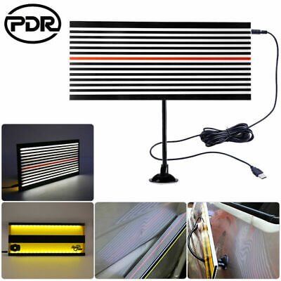 PDR Tools LED Line Board Paintless Dent Repair Auto Body Doctor Removal Kit • 20.29£