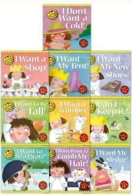 Little Princess Story Collection Tony Ross 10 Books Set PB NEW • 16.99£
