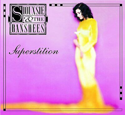 SIOUXSIE AND THE BANSHEES SUPERSTITION CD (Remastered & Expanded Released 2014) • 6.99£