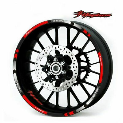 AU18.99 • Buy For Suzuki Hayabusa Stereo Rubber Rim Pasters Motorcycle Accessories