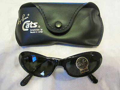 $199.99 • Buy Vintage B&l Ray Ban W2522 Shiny Black G15 Uv Cats Eye Rituals Sunglasses New!!!
