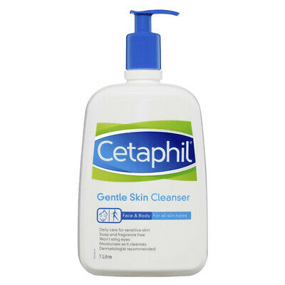 £19.08 • Buy Cetaphil Gentle Skin Cleanser Face And Body Moisturiser For All Skin Types 1l