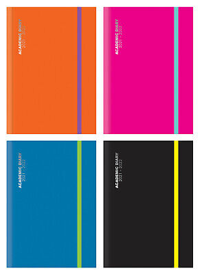 £4.95 • Buy 2021-2022 A5 Day Per Page Academic Diary Mid Year Case Bound Student Planner 198