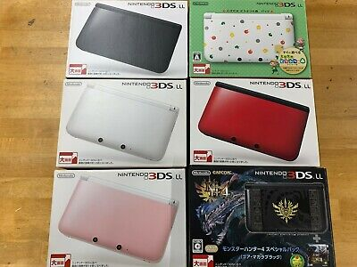 $174.99 • Buy Nintendo 3DS LL XL Console Various Colors Accessory Complete Used Japanese Only