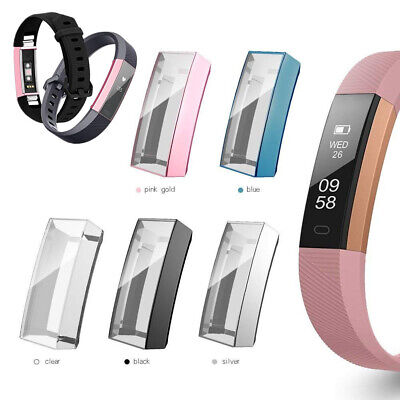 $ CDN5.37 • Buy Soft Rubber Full Cover Case Watch Skin Screen Protector For Fitbit Alta/HR/Ace