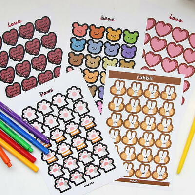 AU2.19 • Buy Paper Stickers Stationery Bullet Journal Japanese Style Laptop Gift Diary