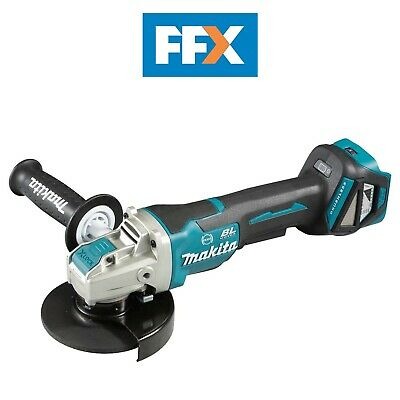 Makita DGA519Z 18V 125mm BL LXT X-Lock Angle Grinder Bare Unit Variable Speed  • 174.50£