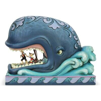Disney Traditions A Whale Of A Whale (Monstro Geppetto & Pinocchio) Figurine • 59.95£