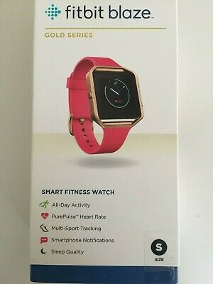 $ CDN209.81 • Buy Fitbit Blaze Special Edition, Gold, Pink, Small NEW