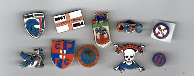 CRYSTAL PALACE F.C.Enamel Badge Collection 10 New Pins • 15.95£