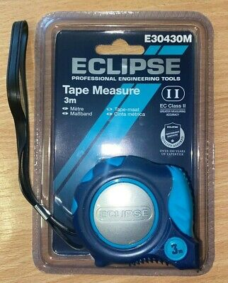 Eclipse Tape Measure 3m Metric Only E30430M • 5.99£