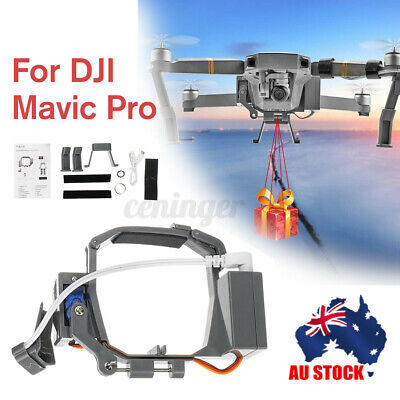 AU36.99 • Buy AU Double Release Air-Dropping Ring Fishing Bait Thrower For DJI Mavic Pro Drone