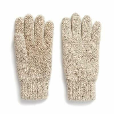 $18.47 • Buy Hot Shot Men's Ragg Wool Full Finger Gloves – Oatmeal, Insulated For Cold Out...