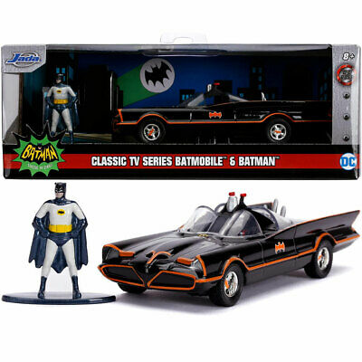 Jada Hollywood Rides 1966 Batman Classic Batmobile 1:32 Diecast Model Car • 12.95£