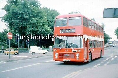 35mm BUS SLIDE: PMT POTTERIES BRISTOL VR 639 @ STOKE 1976 • 4.49£