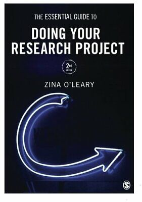 £5.49 • Buy The Essential Guide To Doing Your Research Project By O'leary, Zina Book The