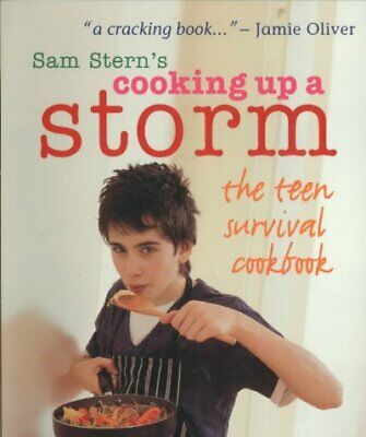 Cooking Up A Storm, Paperback By Stern, Sam; Stern, Susan, Acceptable Conditi... • 2.99£