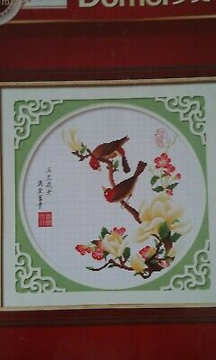 Oriental Cross Stitch Charts-Birds And Flowers • 4£